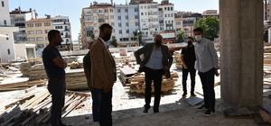 Başkan Bakkalcıoğlu, Çarşı Meydan Projesini yerinde inceledi