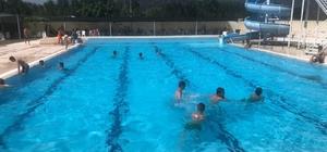 Aylar sonra yüzme yavuzu açıldı