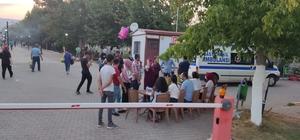 Pazarcık'ta vatandaşlar pazarda ve parkta randevusuz aşı oldu
