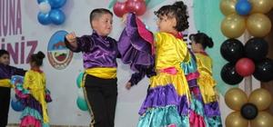 Gündüz Çocuk Bakımevi'nde eğitim gören minikler ayakta alkışlandı