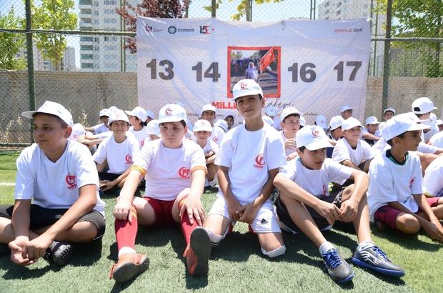 """Diyarbakır'da 15 Temmuz şehitleri anısına """"Spora Gel Vatan Turnuvası"""" yapıldı"""