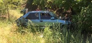 Yoldan çıkan otomobil uçuruma yuvarlandı: 1 ölü Manisa'nın Alaşehir ilçesinde kontrol çıkan bir otomobil 30 metrelik uçuruma yuvarlandı