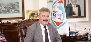 Başkan Palancıoğlu Prof. Dr. Albayrak'ı tebrik etti