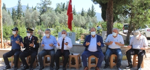 15 Temmuz Demokrasi ve Milli Birlik Günü kapsamında şehitlik ziyareti yapıldı