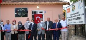 Elazığ'da şehit Mehmet Uzun sosyal tesisi ve parkının açılışı yapıldı
