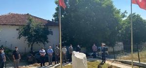 Dumlupınar'da Ağaçköy Kurtuluş Savaşı Şehitliği ziyaret edildi