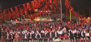 Erzincan'da 15 Temmuz'da tek yürek oldu