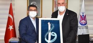 Başkan Çelik Kosova heyetini ağırladı