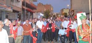 Besni'de 15 Temmuz Demokrasi ve Milli Birlik Günü etkinliği
