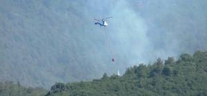 Hatay'da orman yangınına 3'üncü günde de müdahale sürüyor Karadan ve havadan söndürme çalışmaları devam ediyor