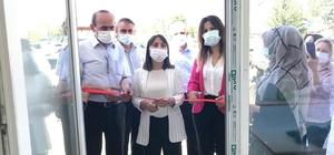 Çavdarhisar'da çini sergisi açıldı