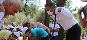 Gaziantep'te mevsimlik tarım işçilerinin çocukları Yesemek müzesini gezdi