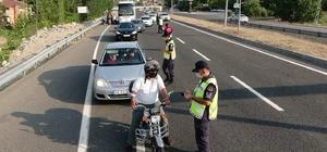 Kahramanmaraş'ta 17 sürücüye 15 bin lira ceza