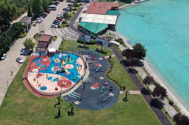 Su oyunları parkı bayramda ücretsiz