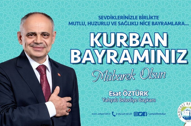 Başkan Öztürk'ten Kurban Bayramı mesajı