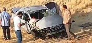 Batman Hasankeyf karayolu üzerinde kaza: 3 yaralı