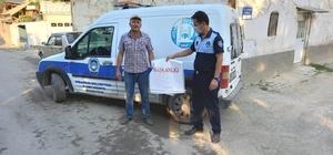 Hisarcık Belediyesi 5 bin kurban atık poşeti dağıttı