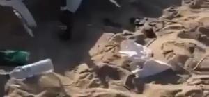 Tatil cenneti Bozcaada'yı bu hale getirdiler Bozcaada plajlarında ateş yakıp, içki içtiler, utanmadan çöplerini bıraktılar