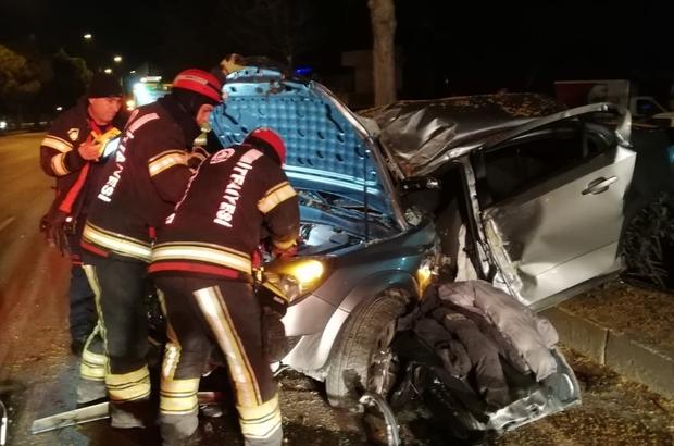Denizli'de 1 haftada 147 trafik kazası meydana geldi