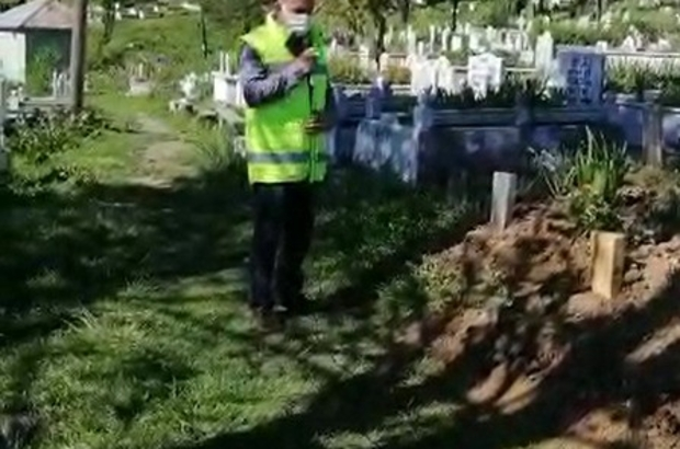 Ordu'da kabristanlarda Kur'an-ı Kerim tilaveti
