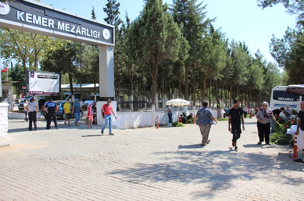 Kurban Bayramı öncesi Aydın'da mezarlıklar ziyaretçilerle doldu