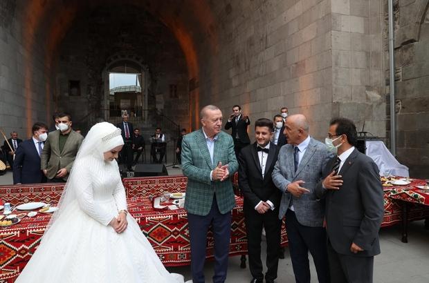 Cumhurbaşkanı Erdoğan genç Çakır'ları kabul etti