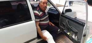 Üstüne inek düştü, sağ bacağı kırıldı Bu bayramda da 'acemi kasaplar' kendini yaraladı