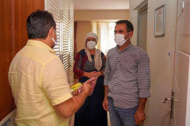 Hasta yakınları Kurban Bayramında yalnız bırakılmadı