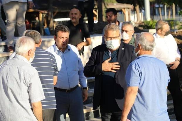 Başkan Çerçi vatandaşlarla bayramlaştı
