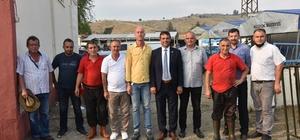 Başkan Yardımcısı Şahinoğlu'ndan bayram ziyaretleri