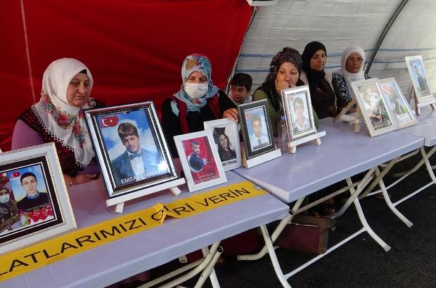 Evlat nöbetindeki aileler bayramın ikinci gününde de çadırda bekliyor Ailelerin direnişi bayramda da devam ediyor