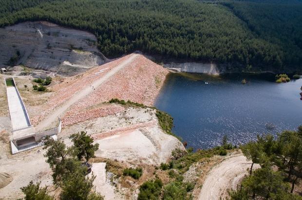 Gördes Karayağcı Barajından bereket akacak