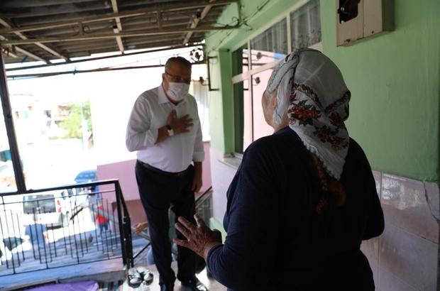 Yunusemre Belediyesi bayramda ihtiyaç sahiplerini unutmadı