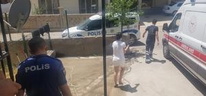 Darp edildiğini iddia eden genç kız 112 sağlık ekiplerine sığındı