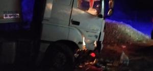 Bingöl'de tır yoldan çıktı: 2 yaralı
