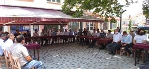 Hisarcık'ta bayramlaşma programı düzenlendi