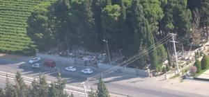 Havadan trafik kontrolünde 17 araç trafikten men edildi