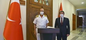 Sahil Güvenlik Komutanından Bayram ziyaretleri