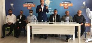 AK Parti teşkilatı Besni'de bayramlaştı