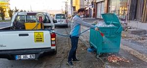 Kahramanmaraş'ta hayvansal atıkların kaldırılması ve ilaçlama devam ediyor