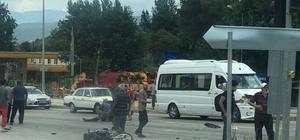 Osmaneli 'de kamyonet ile motosiklet çarpıştı: 1 yaralı