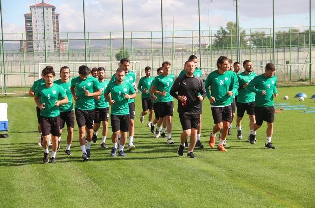Sivas Belediyespor'un 2. etap kampı devam ediyor