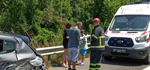 İhtiyaç molası için durunca kazaya neden oldu Dönüş yolunda zincirleme kaza: 6 yaralı