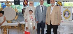 Siyasi parti temsilcileri sünnet düğününde bir araya geldi