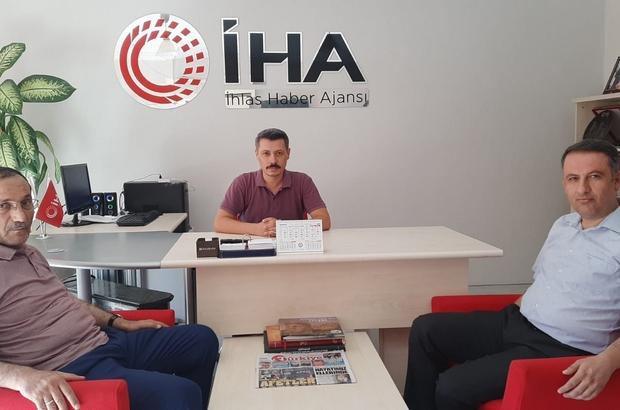 AK Parti İl Başkanı Dağtekin'den İHA'ya ziyaret