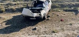 Kontrolden çıkan otomobil şarampole devrildi: 1 ölü, 3 yaralı