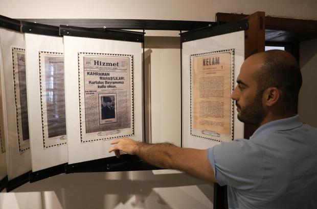 Kahramanmaraş'ın kültürel hazinesi bu konakta korunuyor Osmanlı Devleti'nden Cumhuriyetin ilk yılları ve günümüze kadar yayımlanan çeşitli dergi, gazete ve mecmualar, tarihi konakta hem geleneksel hem de dijital ortamda muhafaza ediliyor