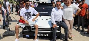 Modifiye araç tutkunları Alaşehir'de buluştu