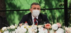 """Düzce Valisi Atay'dan aşılama ile ilgili kesin talimat Düzce'de aşı seferberliği başlatıldı Düzce Valisi Cevdet Atay: """"Gerekirse evlerde aşılama merkezi oluşturacağız"""""""