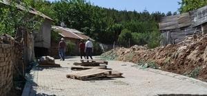 Bingöl Belediyesi üstyapı çalışmalarına devam ediyor